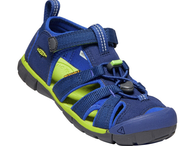 Keen Youth Seacamp II CNX Ungdom blue depths/chartreuse